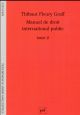 MANUEL DE DROIT INTERNATIONAL PUBLIC TOME 2